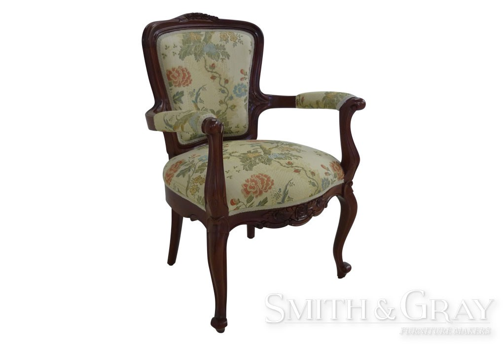 Antique reproduction Mahogany armchair