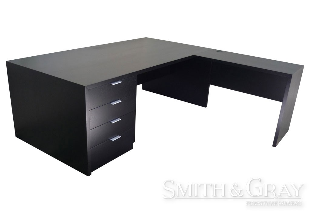 timber office furniture. Handmade Stained Timber Corner Office Desk Furniture O