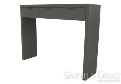 85a09fa6f731 Tall high gloss hall table with drawers